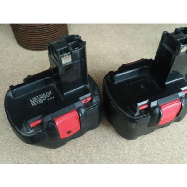 Amoladora y Atornillador a bateria Bosch + 15 discos de corte sds rapido #5 image