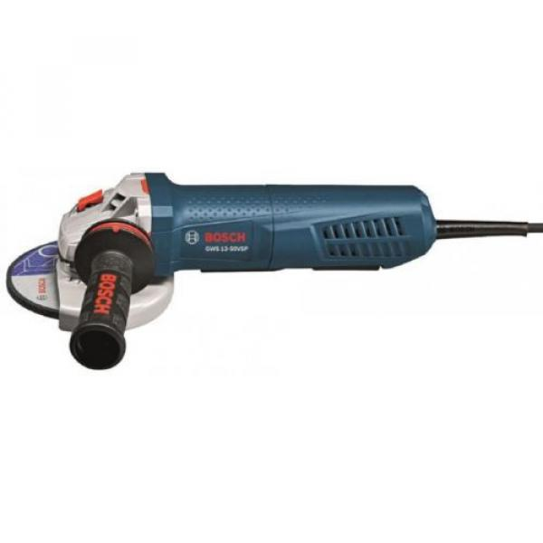 Angle Grinder Tool 10 Amp Corded 4-1/2 in. with Lock-On Paddle Switch Bosch #2 image