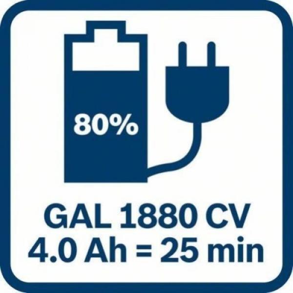 Bosch cordless drill GSR 18 V-60 C 2x 5Ah Li Ion Battery L-Box 06019g1101 #8 image