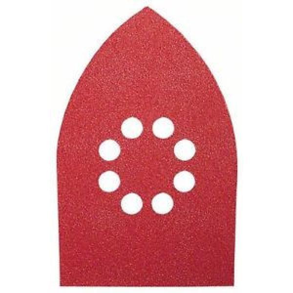 BOSCH 10 Fogli Abrasivi Per Levigatrice Palmare 100x171 Grana 60/120/180 8fori #1 image