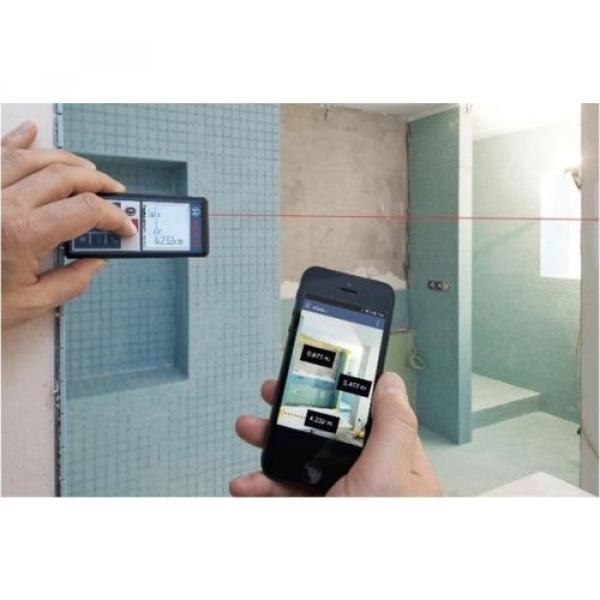 Bosch GLM100C Professional Laser Distance  Direct Digital Transfer Measure #4 image