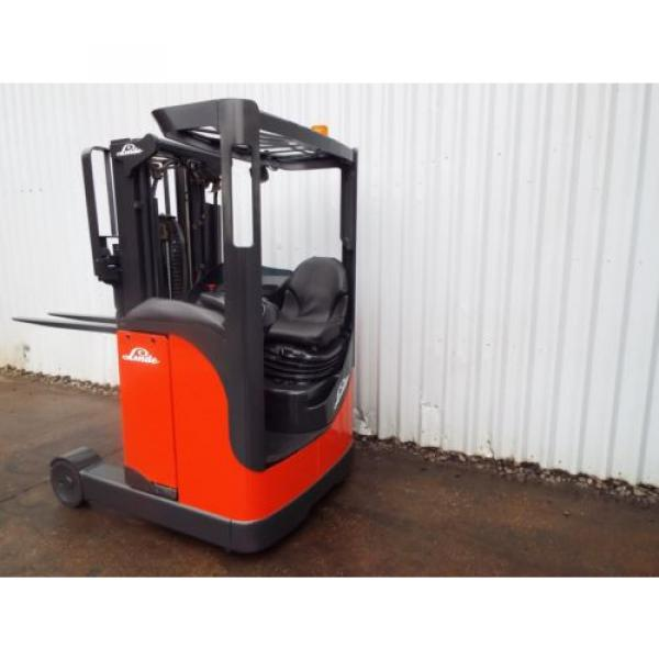LINDE R10CS USED REACH FORKLIFT TRUCK. (A01738) PRICE REDUCED #3 image