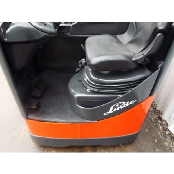 LINDE R10CS USED REACH FORKLIFT TRUCK. (A01738) PRICE REDUCED #4 image