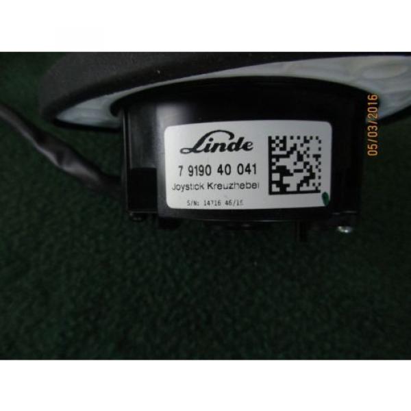 NEW OEM LINDE FORK LIFT JOYSTICK CONTROL 7919040041  MODELS BELOW #4 image