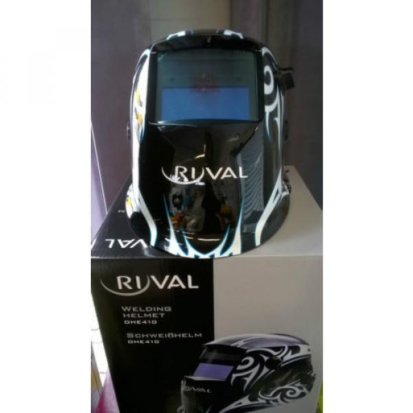 Ryval OHE410 Automatikhelm Linde Schweißerhelm Schweißmaske inkl.Vorsatzscheiben #1 image