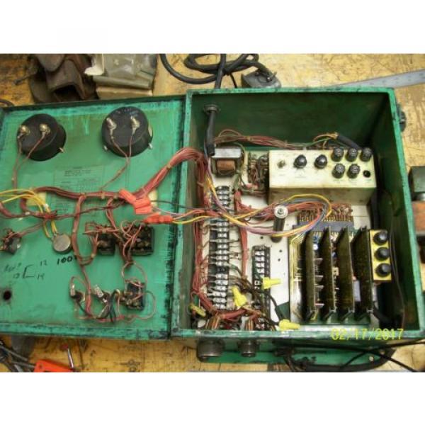 LINDE UNION CARBIDE SSC-17A CONTROL BOX 0-10 WELD CURRENT 10 AMP LINE FUSES #3 image