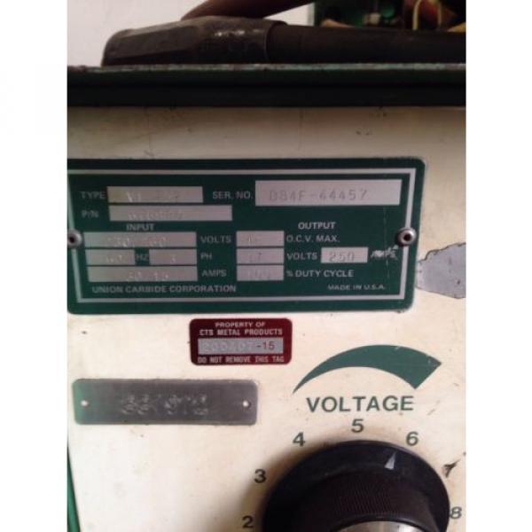 Linde VI-252 CV Welder Power Supply W/Linde Mig-35 Wire Feeder *Nice Setup* #8 image