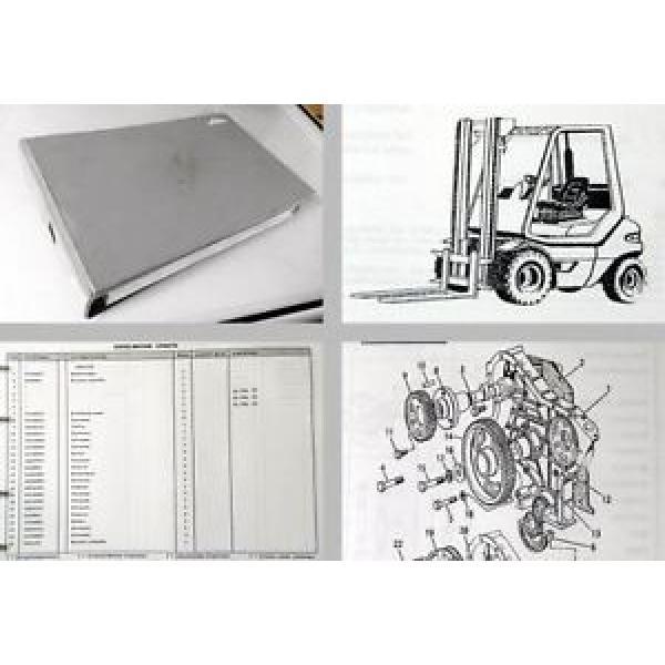 Linde H20-02 H25-02 H30-02 Gabelstapler Ersatzteilkatalog 1995 #1 image
