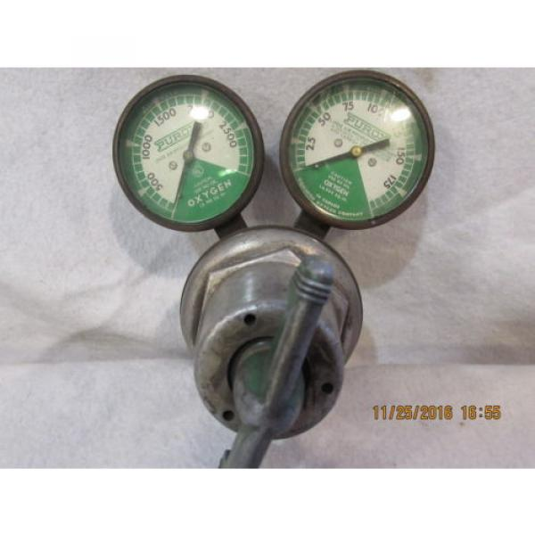 OXYGEN REGULATOR---LINDE AIR PRODUCTS #3 image