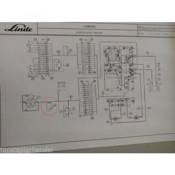 Microinterruttore Linde 0009733012 E12/15/20/25 L10/12 BR 035,141,324,325, #5 image