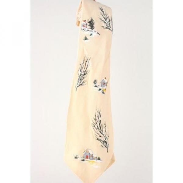 Vintage 40s/50s California Linde Hand Painted Necktie TIE USA #1 image