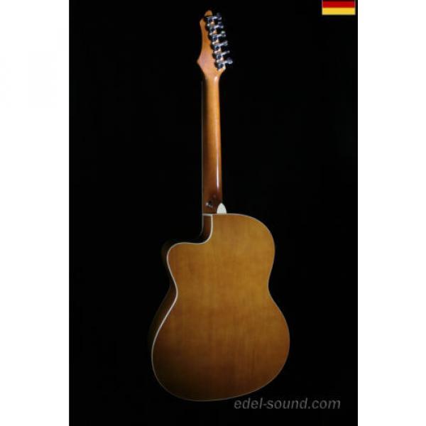 40` Westerngitarre Jane sunburst, breiter Hals, Decke Fichte Korp. Linde Cut EQ, #2 image