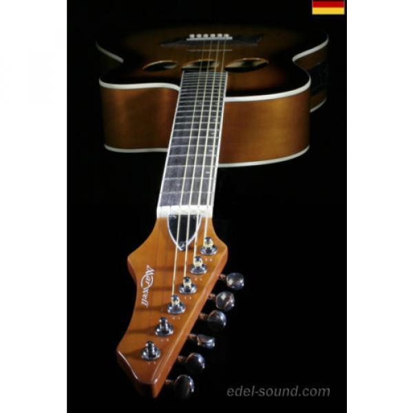 40` Westerngitarre Jane sunburst, breiter Hals, Decke Fichte Korp. Linde Cut EQ, #4 image