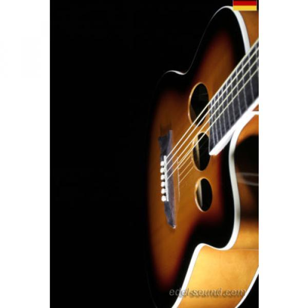 40` Westerngitarre Jane sunburst, breiter Hals, Decke Fichte Korp. Linde Cut EQ, #5 image