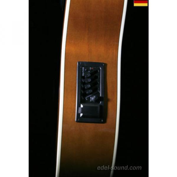 40` Westerngitarre Jane sunburst, breiter Hals, Decke Fichte Korp. Linde Cut EQ, #6 image