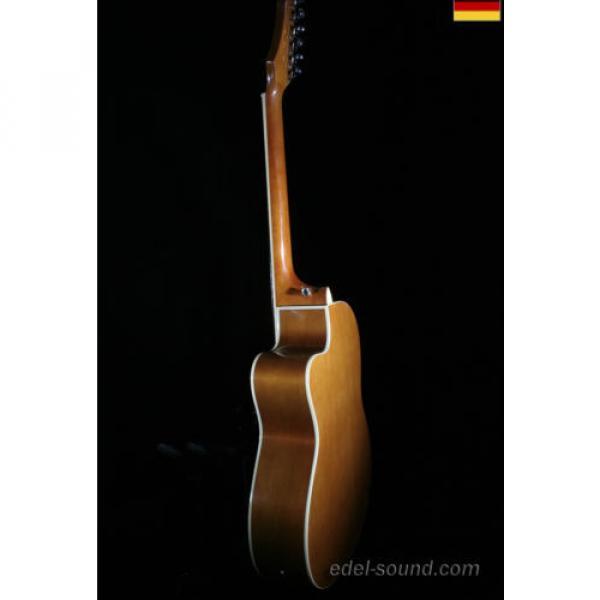 40` Westerngitarre Jane sunburst, breiter Hals, Decke Fichte Korp. Linde Cut EQ, #9 image