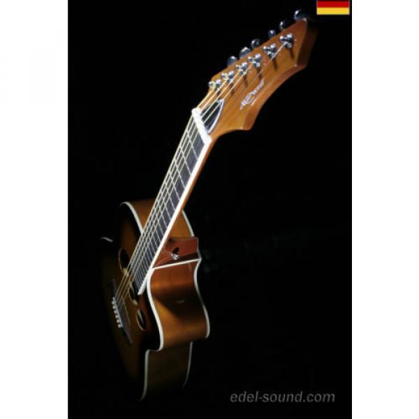 40` Westerngitarre Jane sunburst, breiter Hals, Decke Fichte Korp. Linde Cut EQ, #11 image