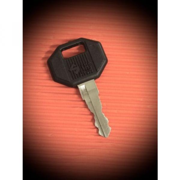 LINDE BAKER Forklift 14603 Ignition Key-Suits Kion,Linde Equipment -FREE POSTAGE #1 image