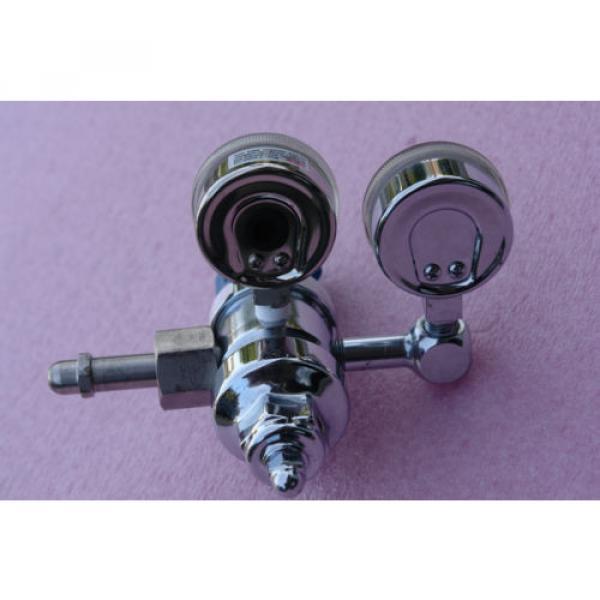 LINDE SG 36600 Gas regulator 4000 psi max, outlet gauge 100 psi #2 image