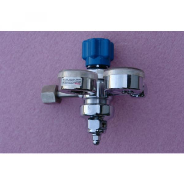 LINDE SG 36600 Gas regulator 4000 psi max, outlet gauge 100 psi #3 image