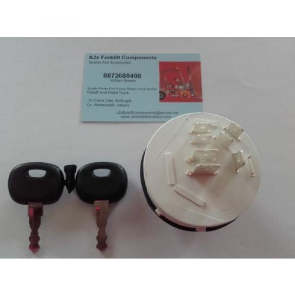 0009730212 Linde  forklift ignition switch + 2 x  16403  keys. Next Day Del UK #2 image