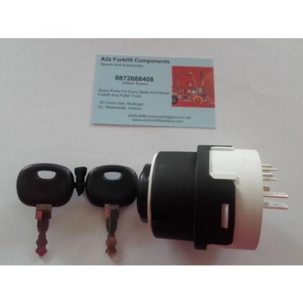0009730212 Linde  forklift ignition switch + 2 x  16403  keys. Next Day Del UK #4 image