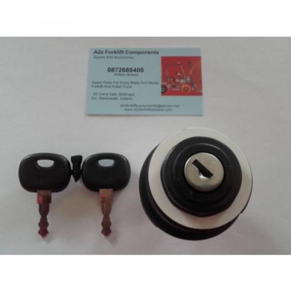 0009730212 Linde  forklift ignition switch + 2 x  16403  keys. Next Day Del UK #5 image