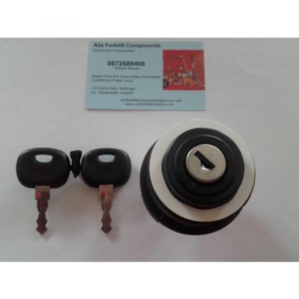 0009730212 Linde  forklift ignition switch + 2 x  16403  keys. Next Day Del UK #6 image