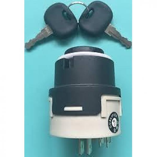 0009730212 Linde  forklift ignition switch + 2 x  16403  keys. Next Day Del UK #12 image