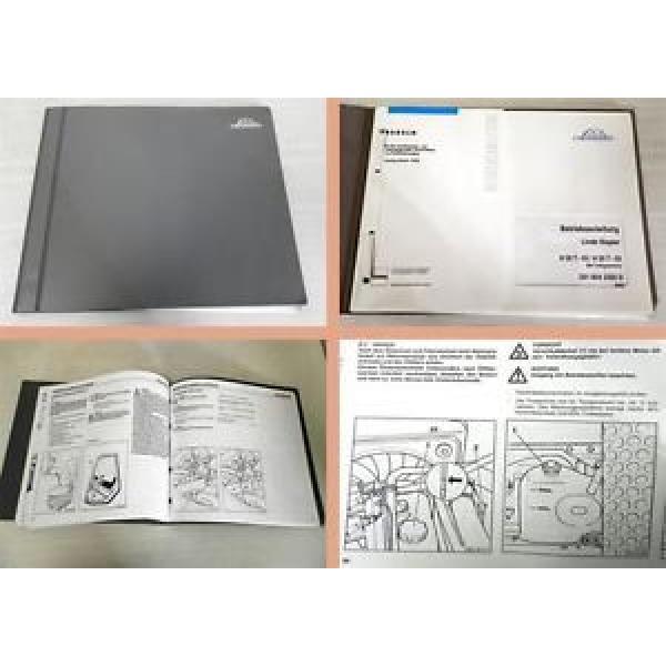 Betriebsanleitung Linde H30T-03 H35T-03 Gabelstapler Bedienung 2000 #1 image