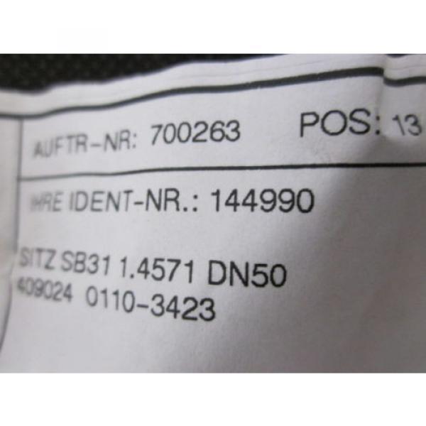 LINDE 144990 SEAT FOR ST.I KVS-14.5 FOR PV 2662 #3 image