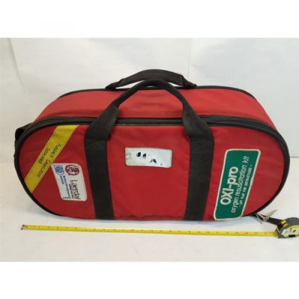 Laerdal Oxi-Pro Oxygen Resuscitation Kit with Linde Oxygen Tank + CIG Regulator #1 image