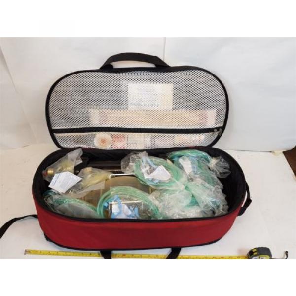 Laerdal Oxi-Pro Oxygen Resuscitation Kit with Linde Oxygen Tank + CIG Regulator #3 image
