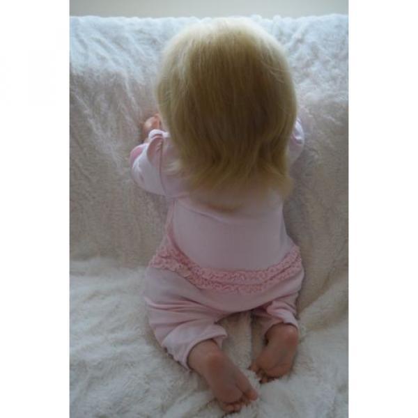 """Reborn baby girl doll Lisa by Linde Scherer 22"""" #5 image"""