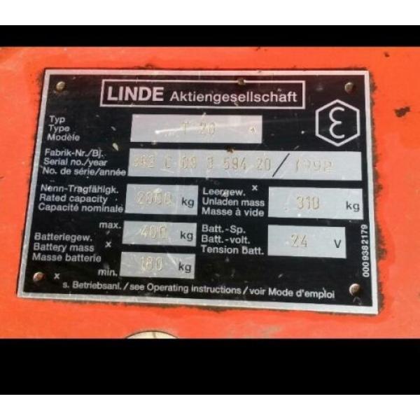 Hydraulikzylinder Hydraulik Zylinder für Ameise Linde T20 Hubwagen Gabelstapler #3 image