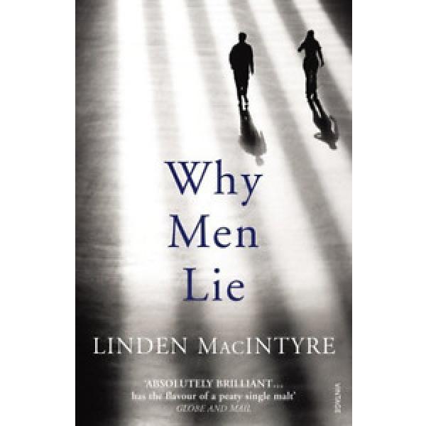 MACINTYRE,LINDE-WHY MEN LIE  (UK IMPORT)  BOOK NEW #1 image