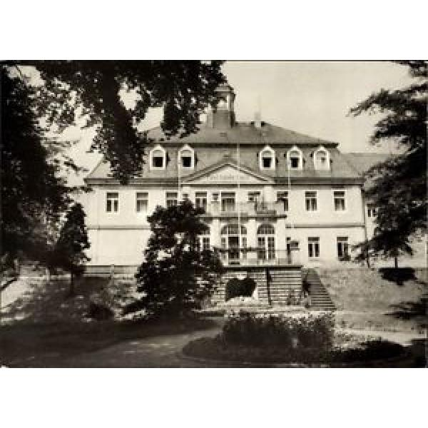 Ak Berggießhübel in Sachsen, Blick vom Park auf das Paul Linde Haus - 1109262 #1 image