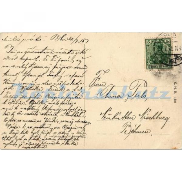 AK Potsdam, Humboldt-Strasse mit Bittschriften-Linde, 1915, 11/03 #2 image