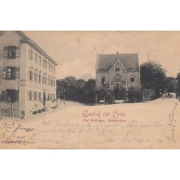 """Hechingen / Hohenzollern, Gasthof """"Zur Linde"""", 1899 #1 image"""