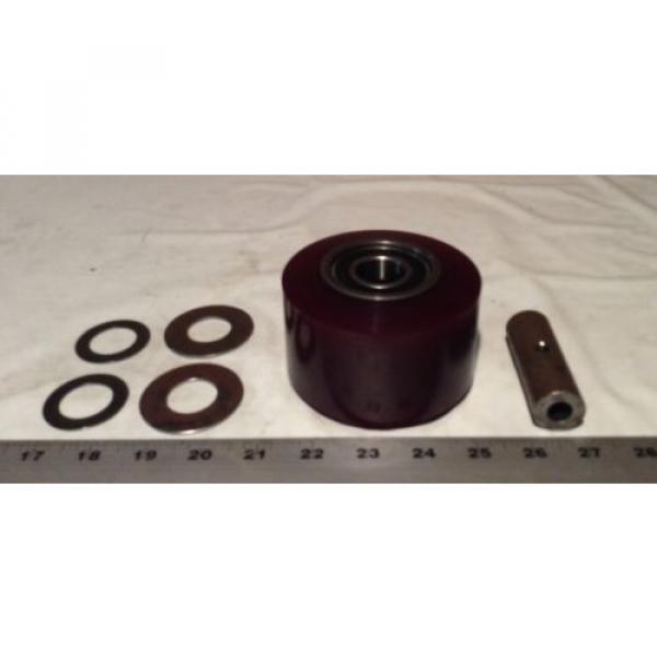 166695 Linde Wheel Kit (STDPOLY) Sku-08160408C #1 image