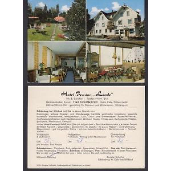 Ansichtskarte Hotel Pension Linde Schömberg Kreis Calw Schwarzwald #1 image