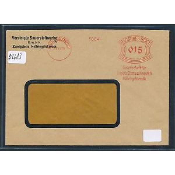 02683) DR meter AFS Höllriegelsreuth Linde Eismaschinen... Fa.-Brief 1929 #1 image