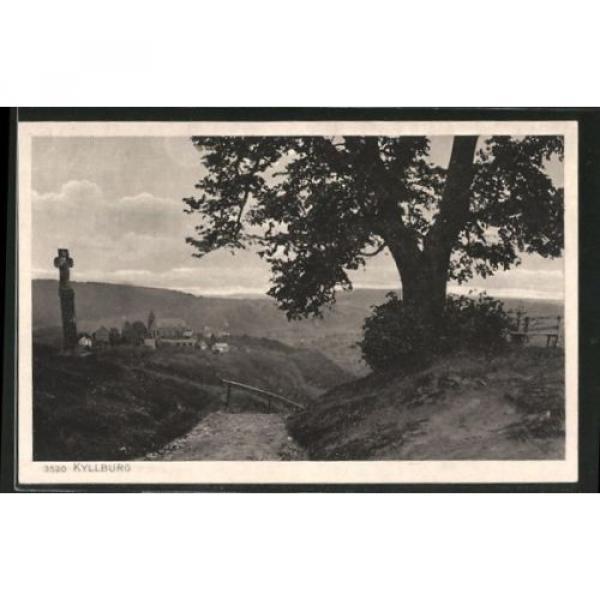 schöne AK Kyllburg, Ortsansicht von der Linde aus #1 image