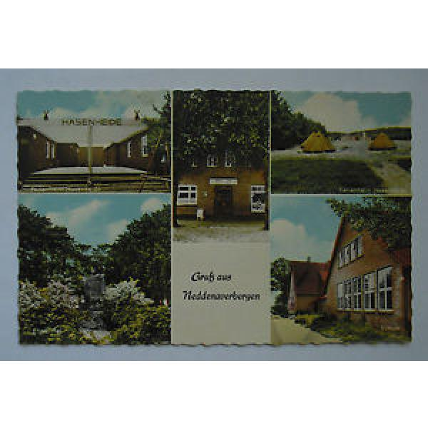 AK Neddenaverbergen Ferienheim Hasenheide Schule Gasthaus zur Linde ungelaufen #1 image