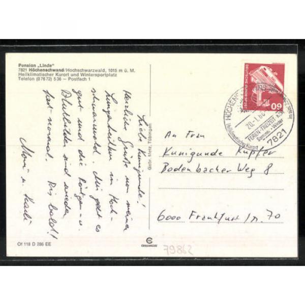 schöne AK Höchenschwand, Pension Linde #2 image