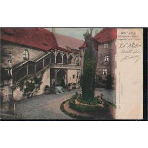 117.057  Nürnberg, Königliche Burg, Schlosshof mit Linde, gl1902 #1 image