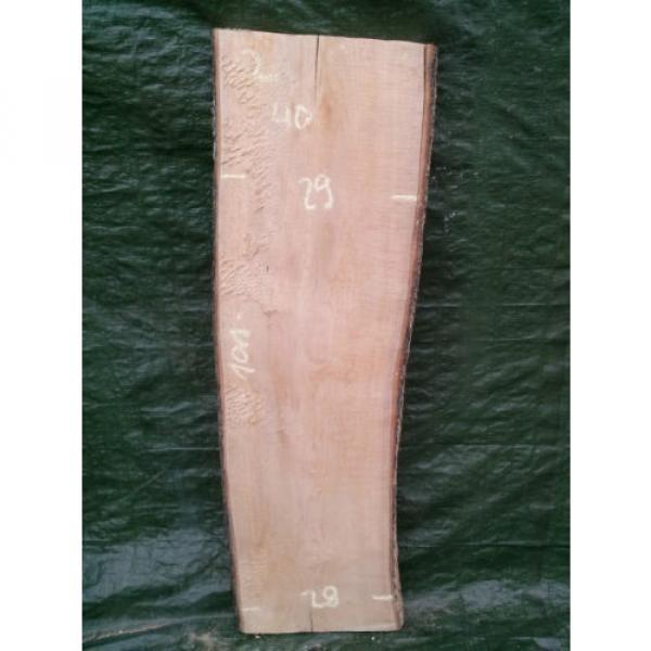 Linde ca. 101cm x bis 30cm x 40mm Brett Bohle Holz Tischlerholz Lindenholz #1 image