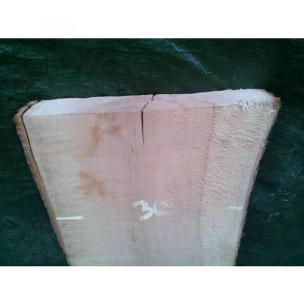 Linde ca. 101cm x bis 30cm x 40mm Brett Bohle Holz Tischlerholz Lindenholz #3 image