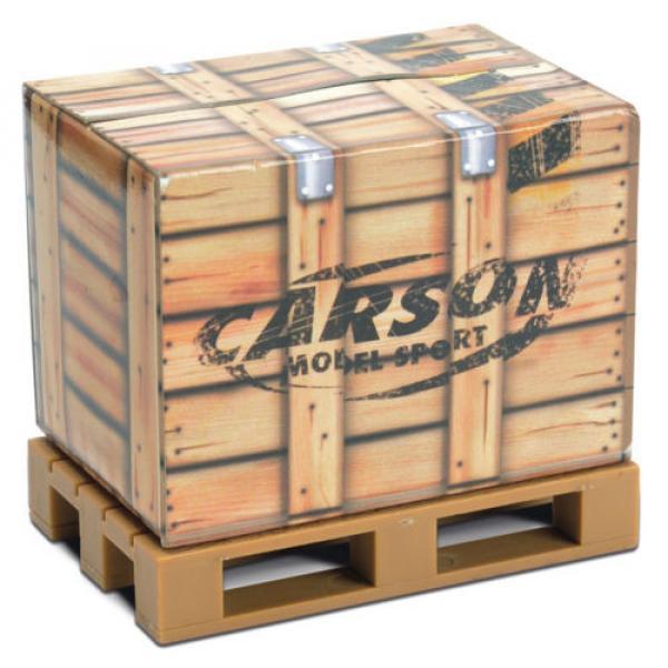 Carson Blue Forklift Linde H 40 D + Pallet Cargo RC Model Car 1:14 Genuine New #3 image