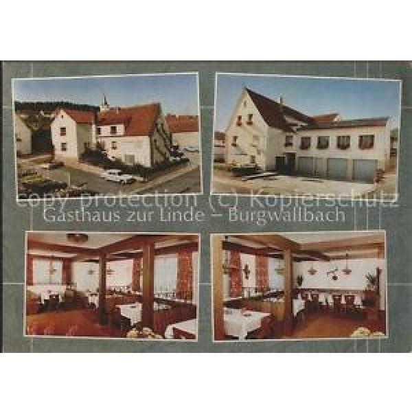 71516136 Burgwallbach Gasthaus zur Linde Gastraeume Schoenau a.d.Brend #1 image